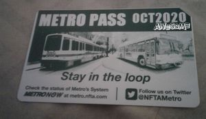 October bus pass for Sale in Buffalo, NY