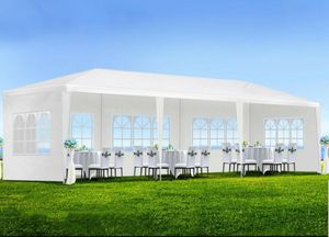 10' x 30' Outdoor Gazebo Wedding Canopy Party Tent Shelter 8 Removable Walls Windows for Sale in Torrance, CA