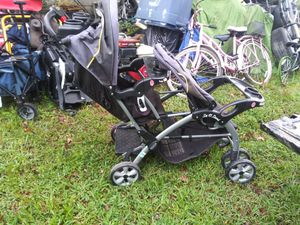 Two baby double stroller for Sale in Summerville, SC