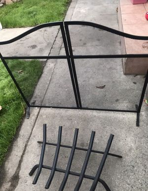 Set for Fireplace ( Metal) for Sale in El Monte, CA