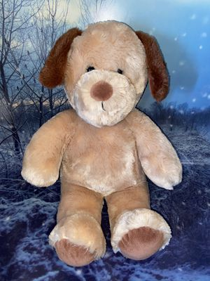 "Build a bear workshop Teddy bear puppy dog plush toy approximately 17"" c for Sale in Bellflower, CA"