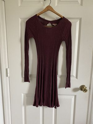 Aeropostale - burgundy sweater dress for Sale in Windermere, FL