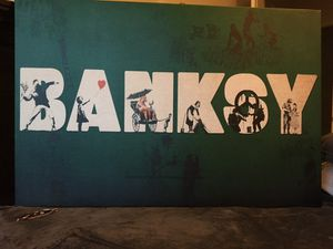 """Badass """"BANKSY Conglomerate"""" Canvas!! for Sale in Tempe, AZ"""