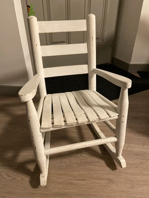 Kid's Shabby Chic Rocking Chair for Sale in Seattle, WA