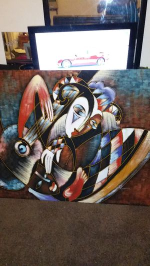 Picaso print on canvas for Sale in Camden, NJ