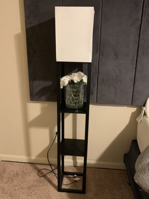 Floor lamp with shelves for Sale in Buford, GA