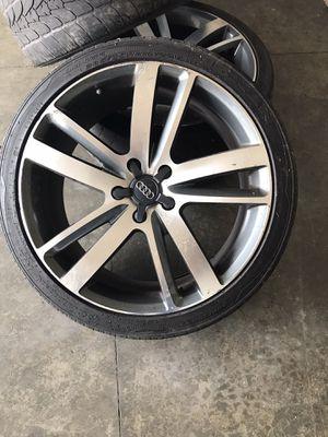 Audi Q7 replica 22 inch rims for Sale in Anacortes, WA
