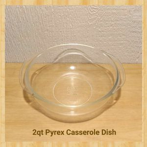 2qt PYREX CASSEROLE DISH for Sale in Ontario, CA