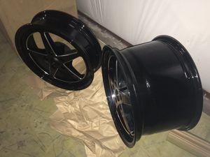 JMS avenger mustang drag wheels for Sale in Fort Worth, TX
