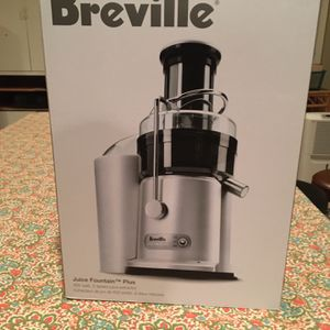 Breville Juice Fountain Plus for Sale in Fort Washington, MD