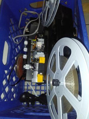 Old projector and film for Sale in Glendale, AZ