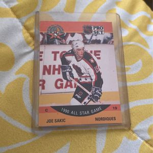 Joe Sakic All Star Card (1990) for Sale in North Andover, MA
