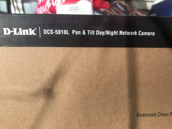 D-link Pan & Tilt Day/Night Network Camera