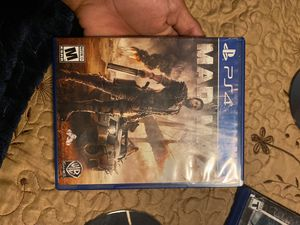 Ps4 game mad max for Sale in Los Angeles, CA