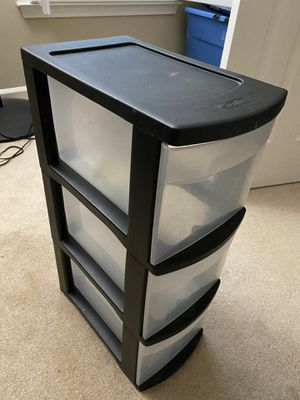 Organizer cabinet 3 drawer for Sale in Alpharetta, GA