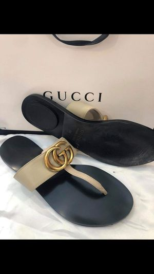 New gucci women sandal size 8 9 10 for Sale in Hollywood, FL