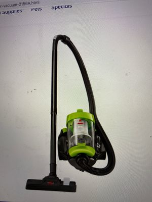 Bissel zing canister vaccum new in box for $64 for Sale in Herndon, VA
