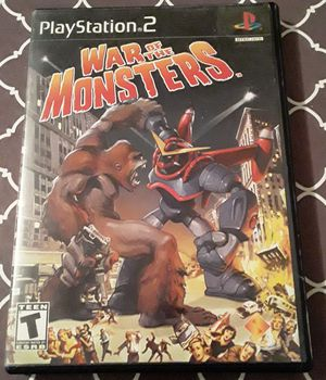 War Of The Monsters (Playstation 2) for Sale in Reading, PA