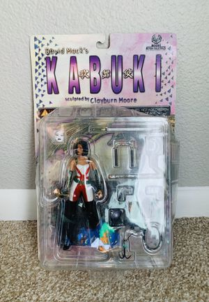 New David Mack's Kabuki Regular Action Figure, Moore Action Collectibles for Sale in Colorado Springs, CO