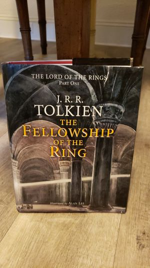 The Lord of the Rings Part One J.R.R. Tolkien The Fellowship of the Rings 2002 ILLUSTRATED by Alan Lee HBDJ for Sale in Norfolk, VA