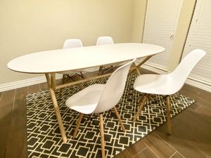 Dining Set Table and 4 Chairs for Sale in Carrollton, TX