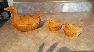 Wicker ducks brand new for Sale in Harrisonburg, VA