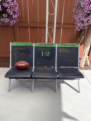 Seahawks Custom Vintage Theater Seat Row for Sale in Puyallup, WA