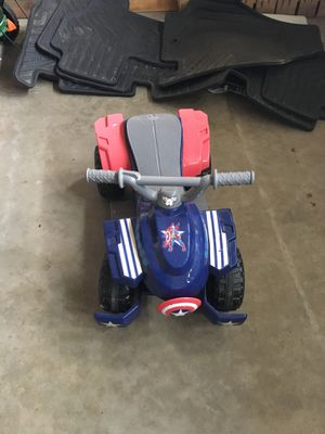 Toddler size Captain America Ride On for Sale in Bloomington, IL