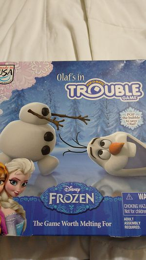 Frozen Trouble Game for Sale in Hialeah, FL