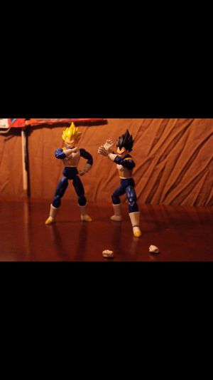 Various Vegeta Action Figure Toys for Sale in Houston, TX