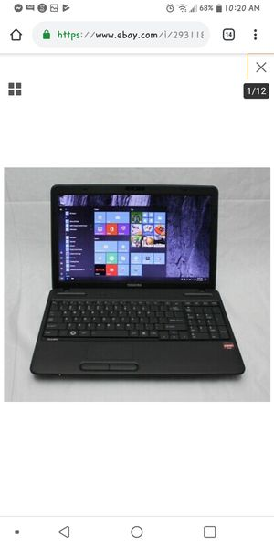 Toshiba laptop older with up to date software. for Sale in Weirton, WV