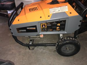 Generac LP5500 portable generator propane for Sale in Greenwood, MO