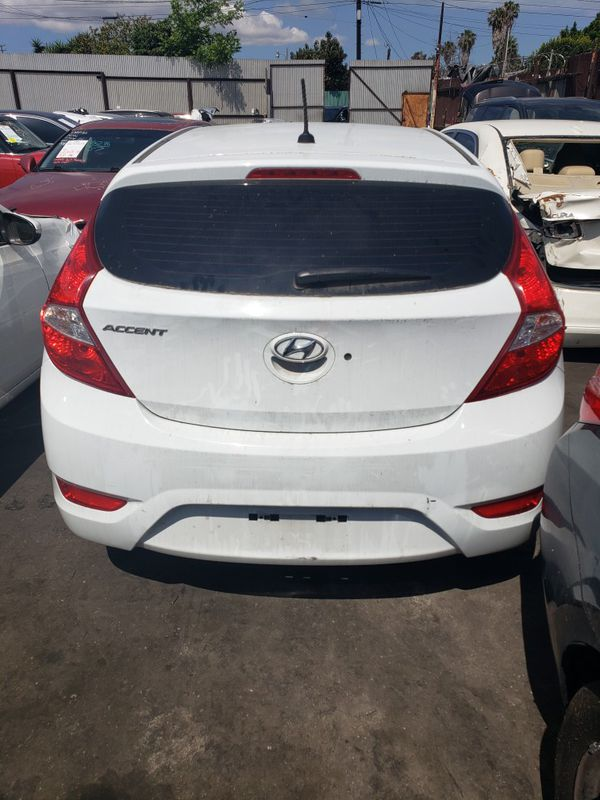 2015 Hyundai Accent for parts