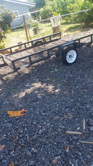 Trailer 8 ft 6 in by 5 ft. 1 1/2 inch hitch for Sale in Riverside, CA