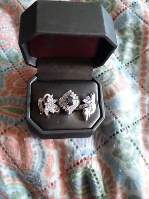 3 beautiful 925 silver women's rings for Sale in Lancaster, PA