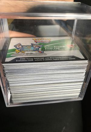 197 Pokémon code cards for Sale in Winter Haven, FL