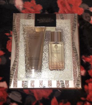 Victoria secret bombshell seduction fragrance mist and lotion for Sale in Riverside, CA