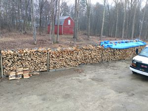 """Green oak and maple 16"""" fire wood for Sale in North Yarmouth, ME"""