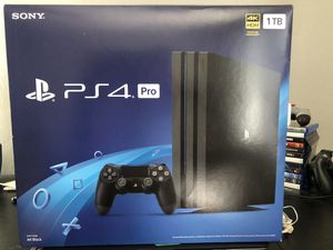 Ps4 pro for Sale in Spring Grove, PA