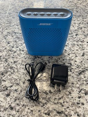Bose SoundLink Color Portable Wireless Bluetooth blue Speaker w/charger #16415-5 for Sale in Revere, MA