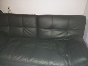 Leather futon, 2 months old need gone asap will be moving soon for Sale in Deming, WA