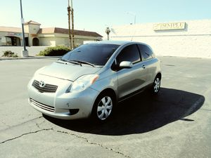 Yaris 2007 $3,100 ENGINE 4-CYL 1.5 liter. Gas sever. No mechanical problems, 2 Door, Clean title. Hatchback for Sale in Las Vegas, NV
