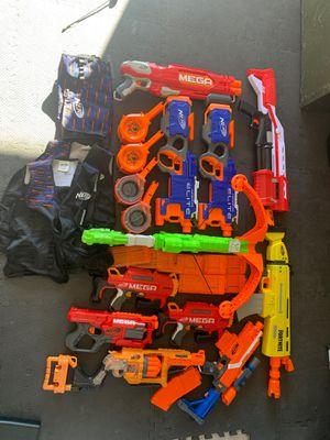 Nerf Guns- Nerf Elite/Mega/ Fortnight and magazines for Sale in Temecula, CA