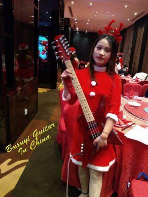 4 string short scale bass/ 6 string electric Busuyi Guitar for Sale in Wuhu Shi, CN
