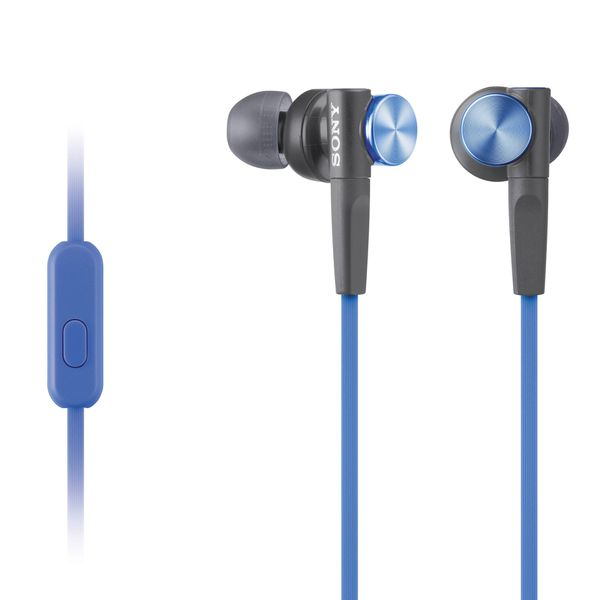 Sony Extra Bass Stereo Headphones with microphone