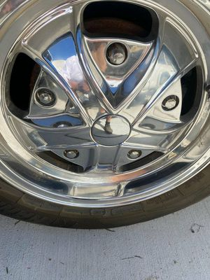 Wide 5 vw rims with 2 brand new tires for Sale in Norwalk, CA