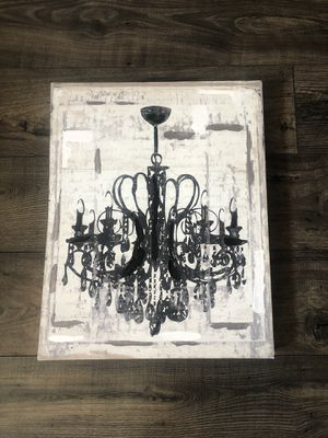 Chandelier girly wall decor for Sale in Lakewood, CO