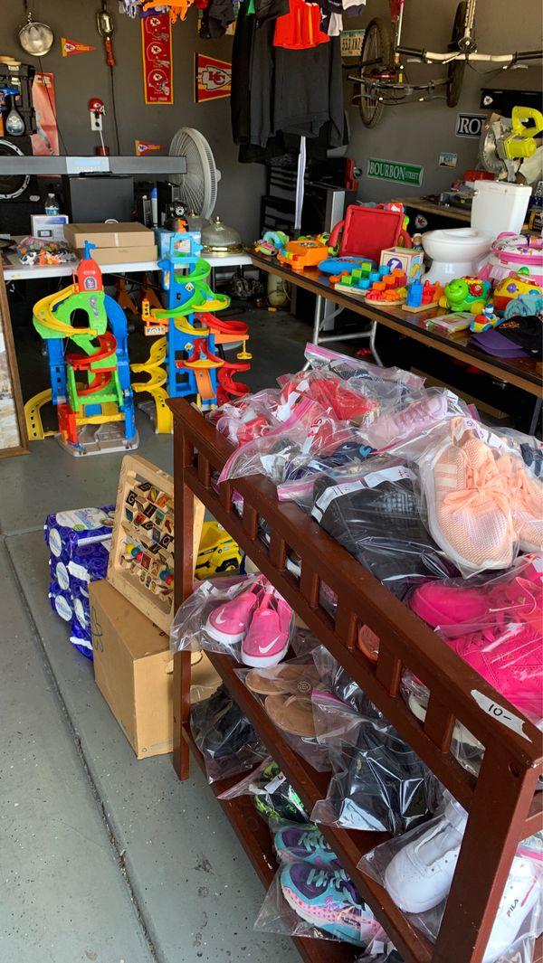 Kids clothes, toys, etc
