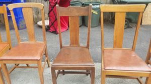 Antique wooden chair for Sale in Fairview, OR