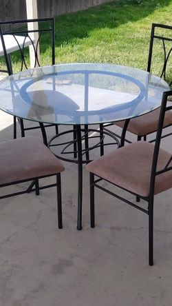 Glass Dining Table for Sale in Livingston,  CA